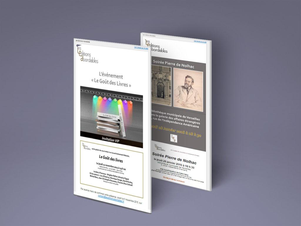 Les Editions Abordables - emailing - Référence - digital - Nahécom