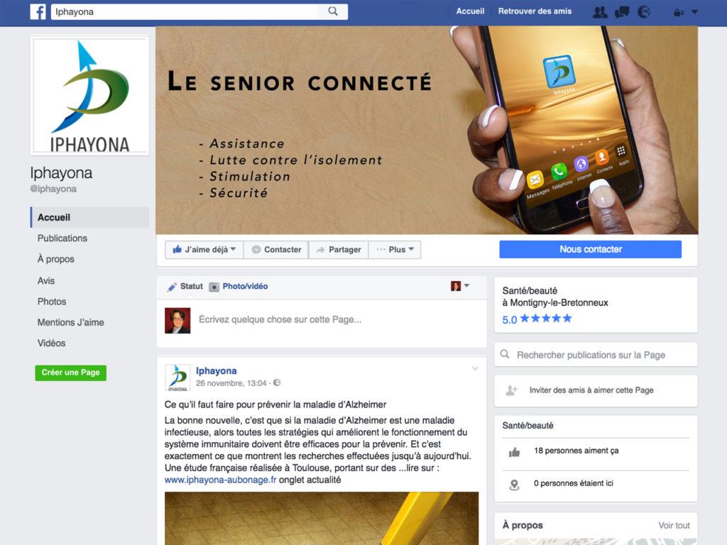 Iphayona - Facebook pro - Références - Nahécom