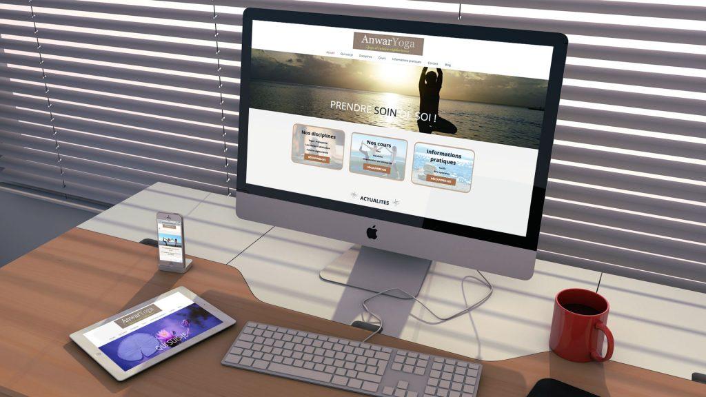 Yogakatia El Aouane - Création du site internet - Référence - Nahécom
