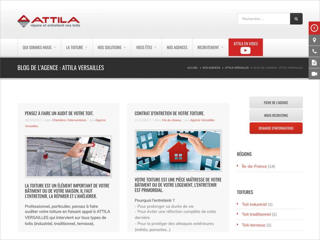 Blog - Attila Versailles - Nahécom