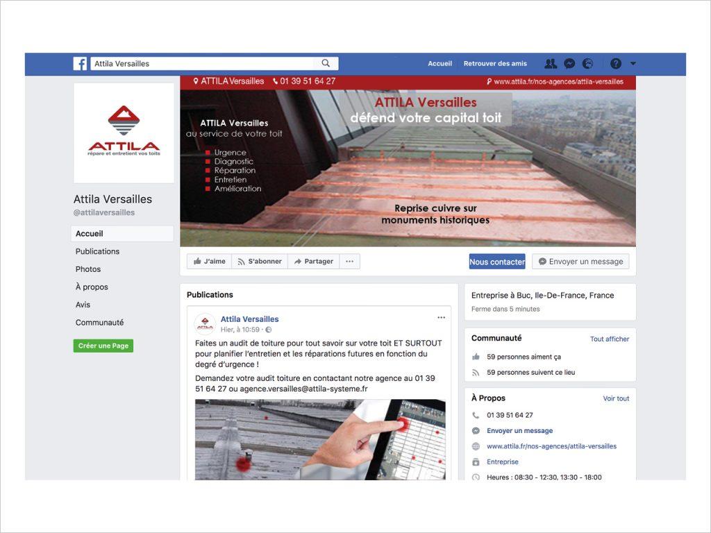 Social Media - Facebook - Attila Versailles - Nahécom