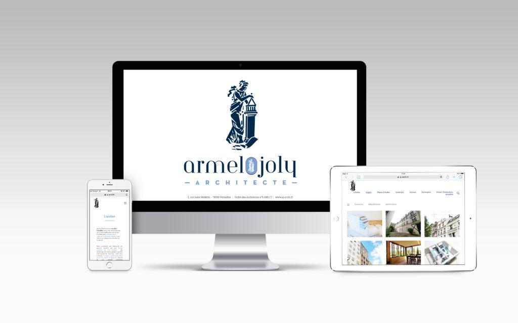 Site internet - Armel Joly Architecte - Nahécom
