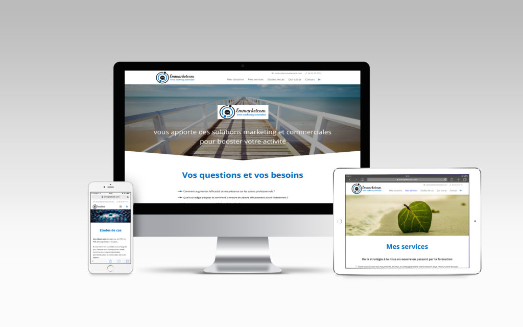 Site internet- Emmarketcom - Nahécom