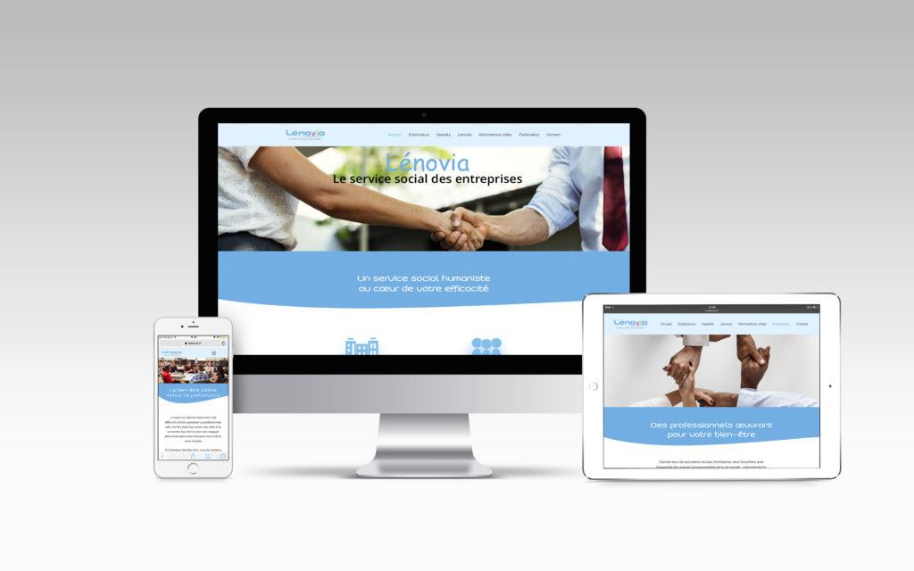 Site internet- Lénovia - Nahécom